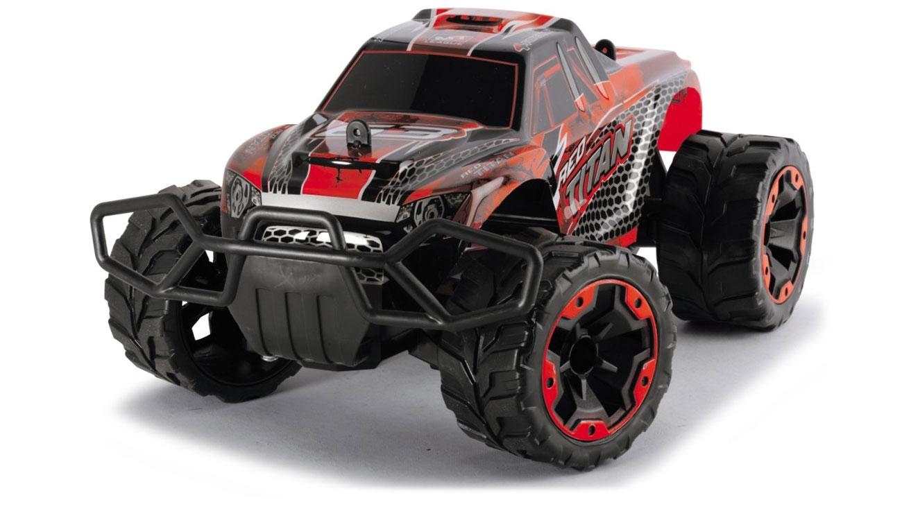 Dickie Toys Samochód Terenowy Red Titan