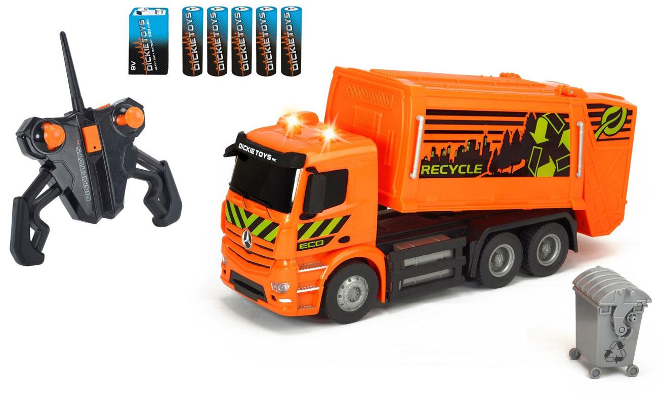Dickie Toys Śmieciarka MB Antos 4006333052804
