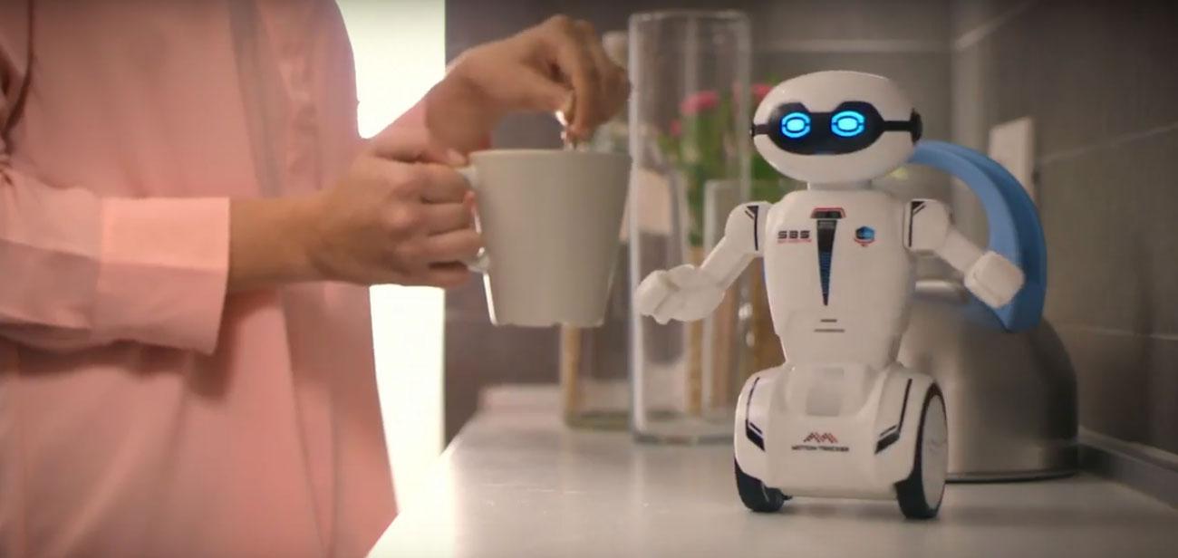 macrobot sterowany