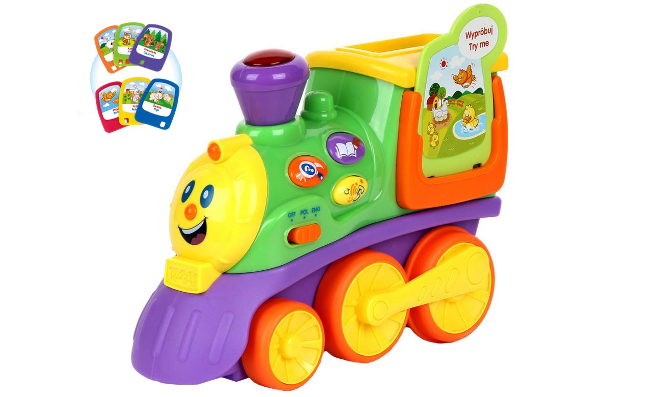 dumel mój pierwszy edukacyjny pociąg