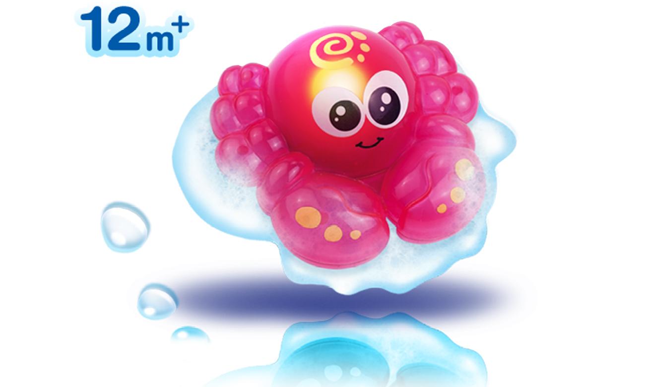 Zabawka Dumel Świecące Zwierzatko DD 43180 czerwony krab