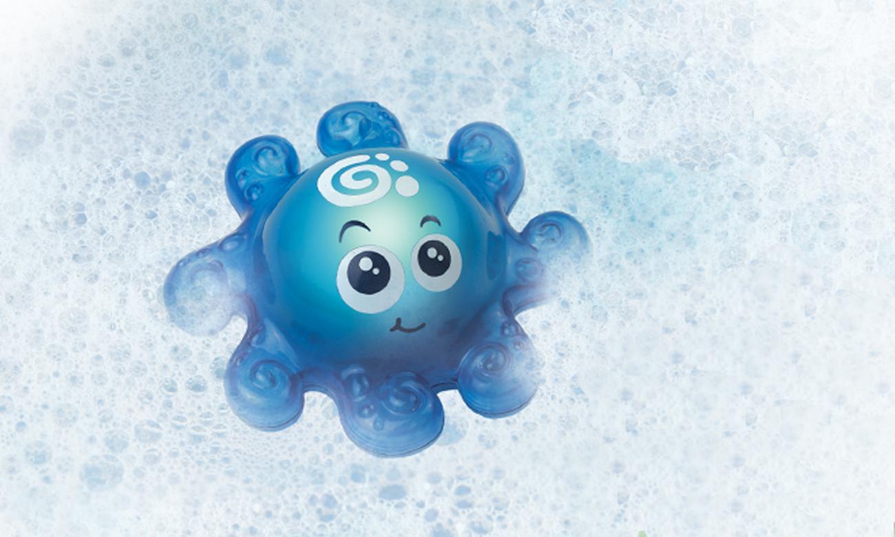 Zabawka Dumel Świecące Zwierzatko DD 43180 niebieska ośmiornica