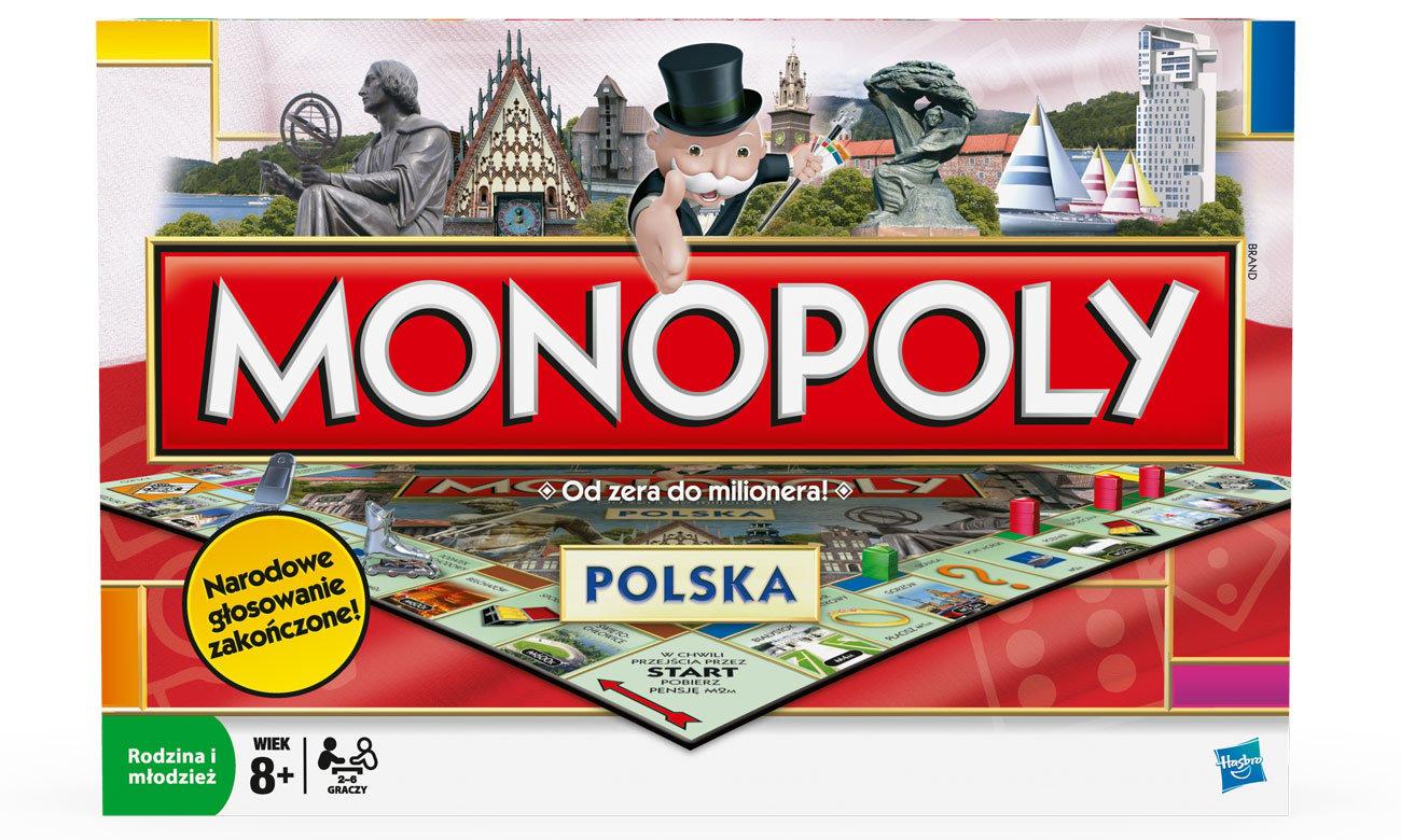 Gra planszowa Hasbro Monopoly Polska