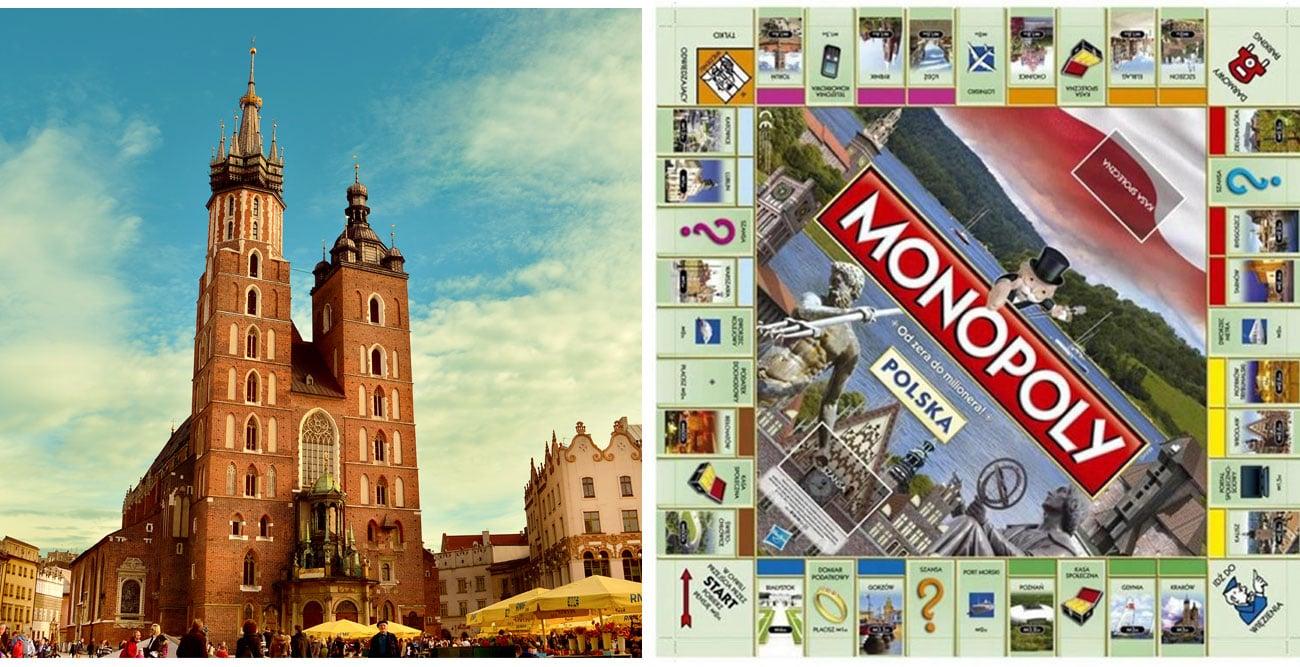 Monopoly z polskimi miastami 01610