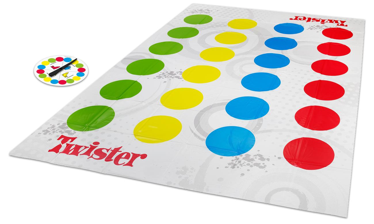 Gra towarzyska, zręcznościowa Hasbro Twister 98831