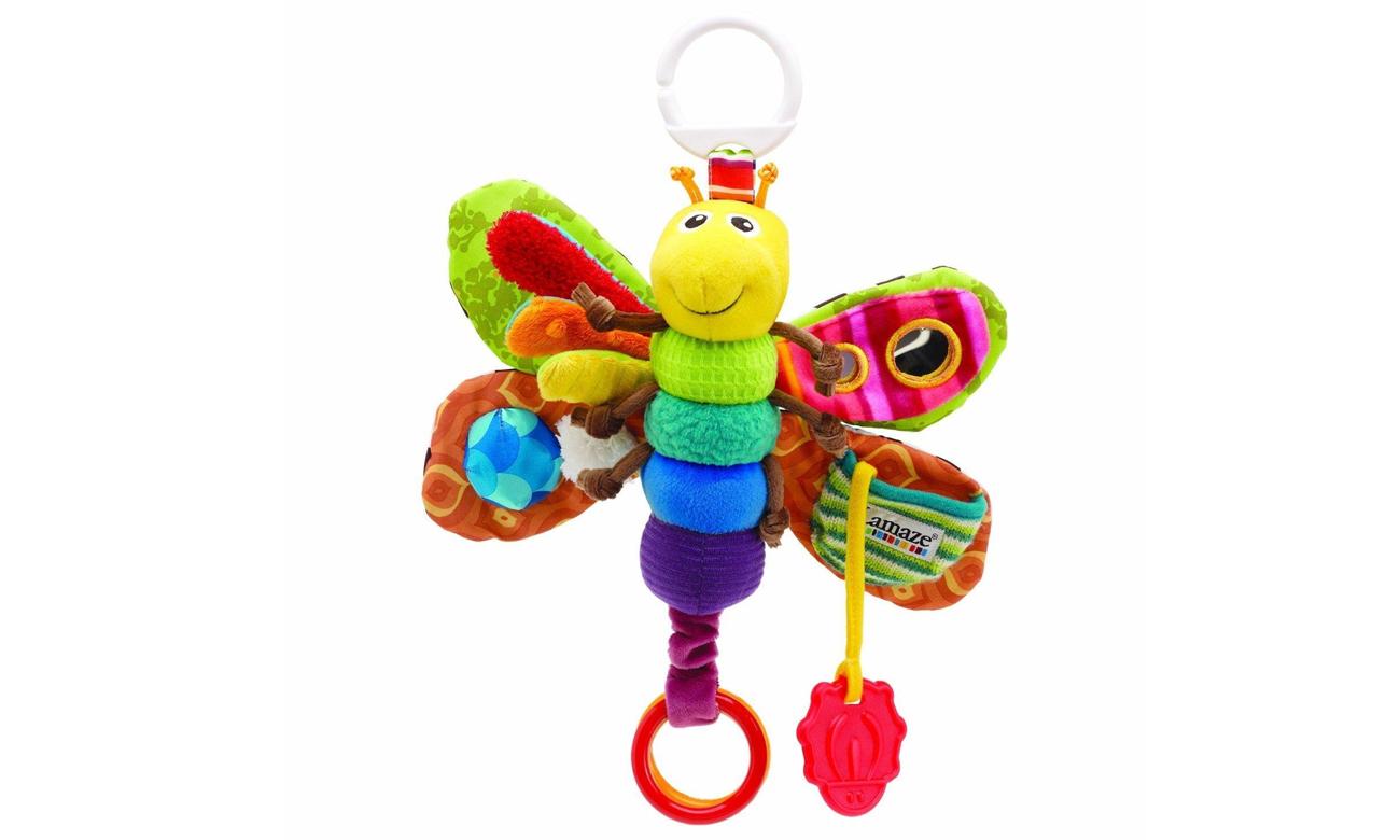 zabawa z TOMY Lamaze Motylek Freddie