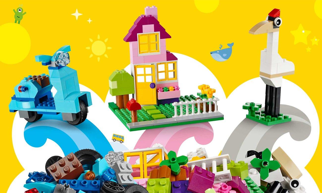 Lego Classic Kreatywne Klocki Duże Pudełko Klocki Lego Sklep