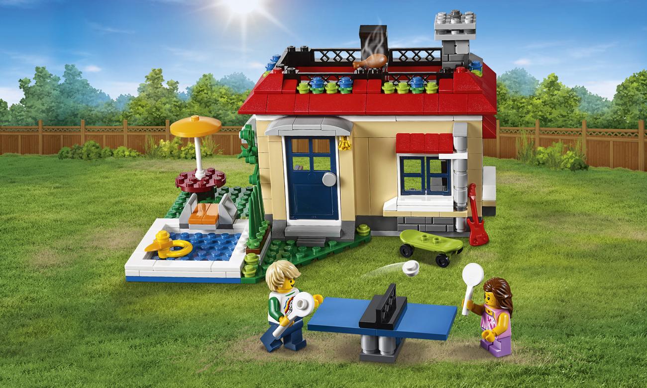 LEGO Creator Wakacje na basenie