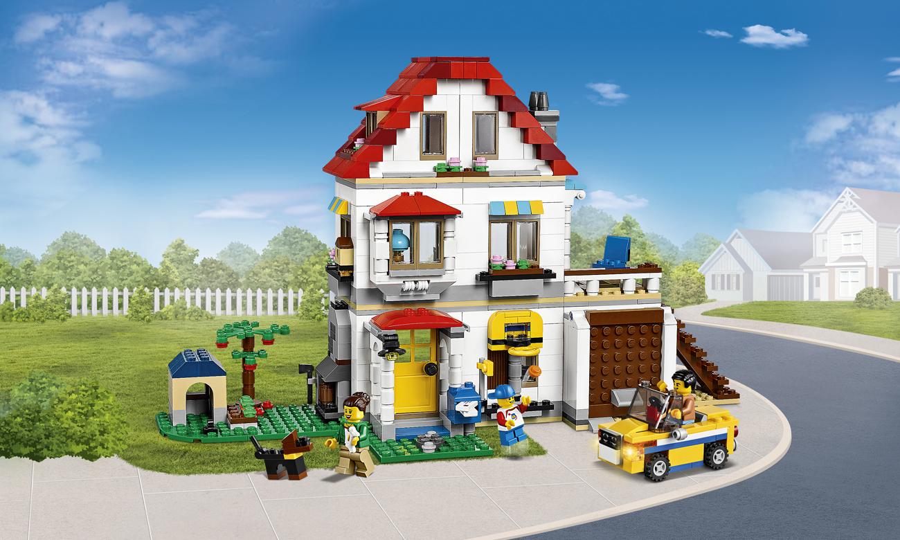 Lego Creator Rodzinna Willa Klocki Lego Sklep Internetowy Alto