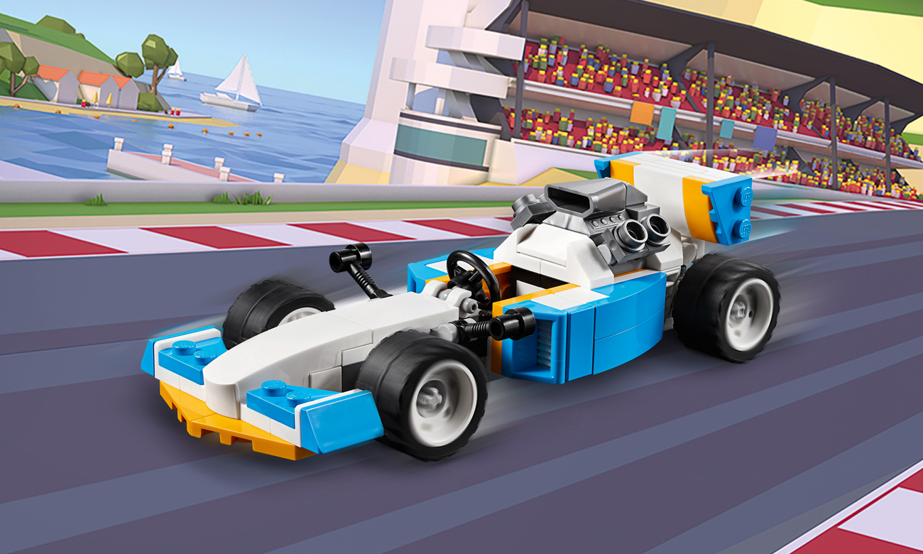 LEGO Creator Potężne silniki