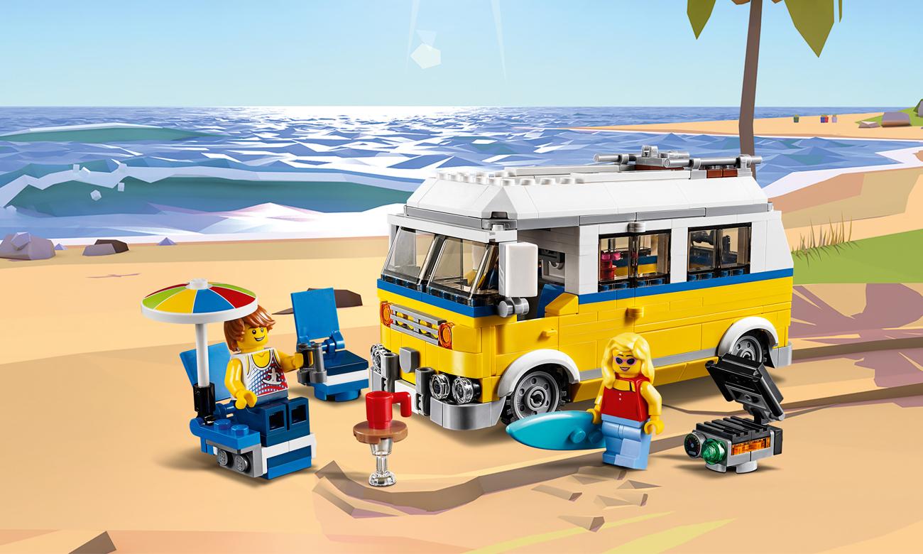 LEGO Creator Van surferów