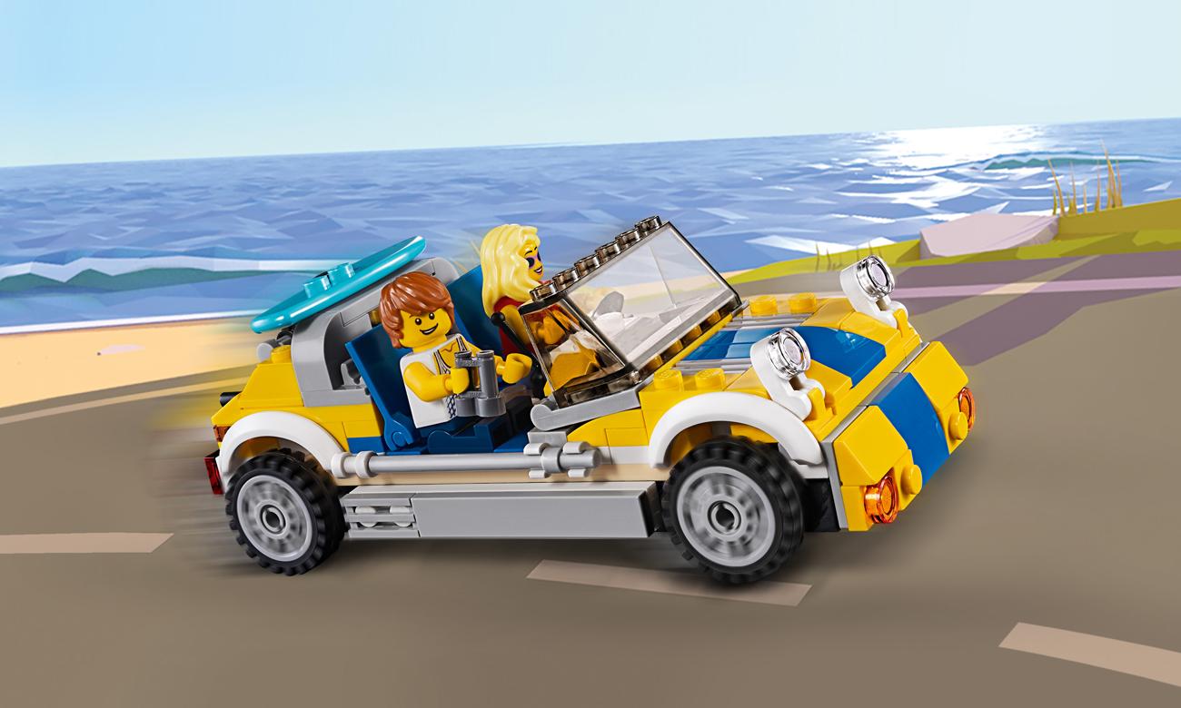 lego creator samochód