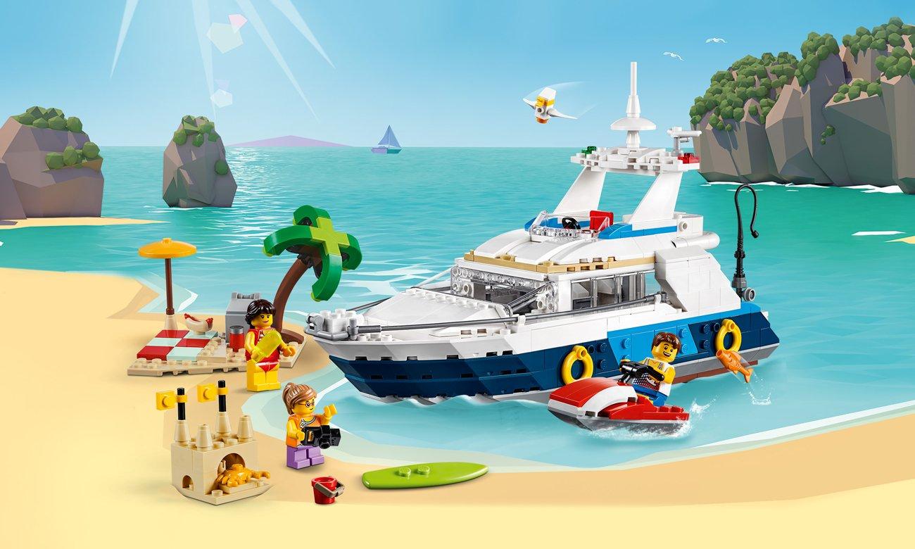 LEGO Creator Przygody w podróży