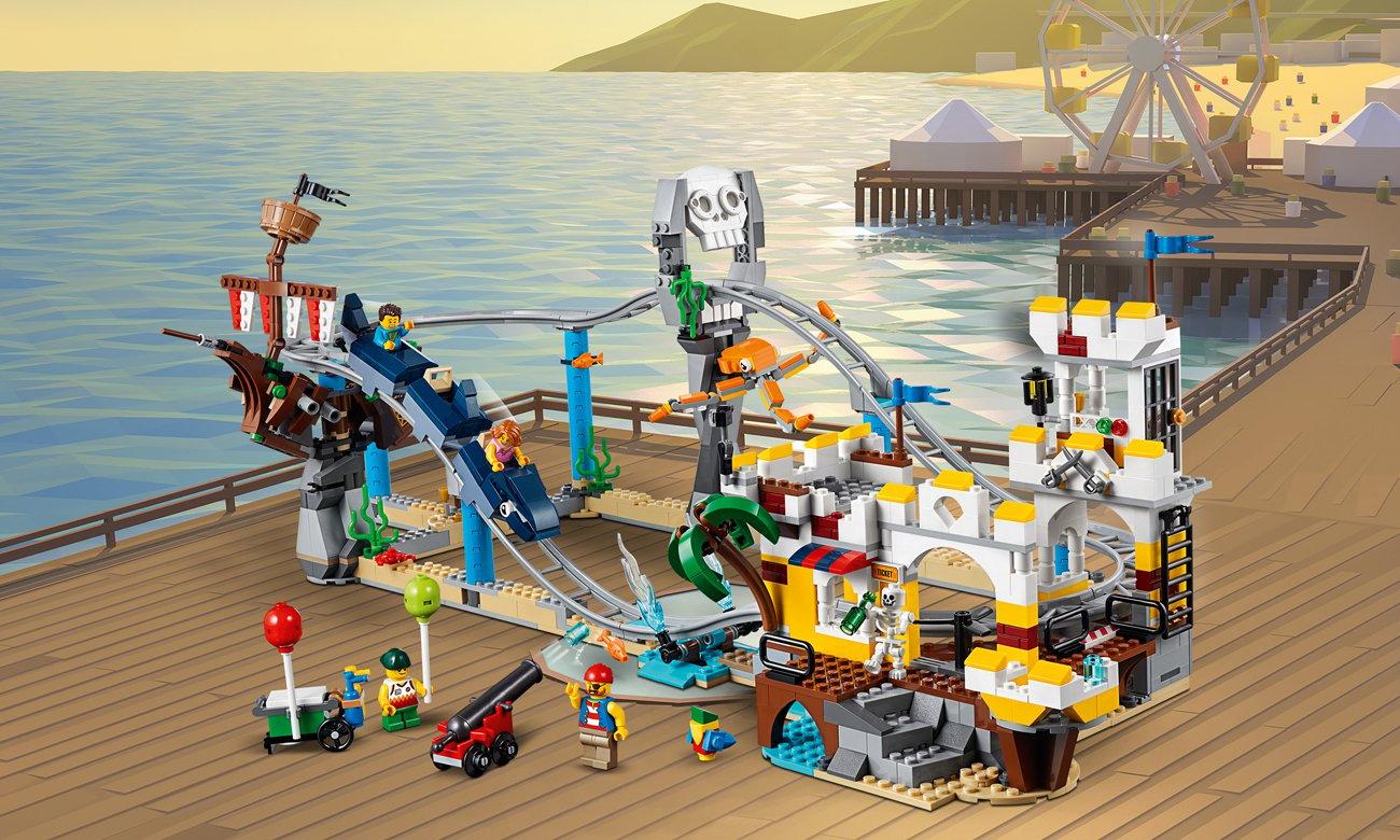 LEGO Creator Piracka kolejka górska