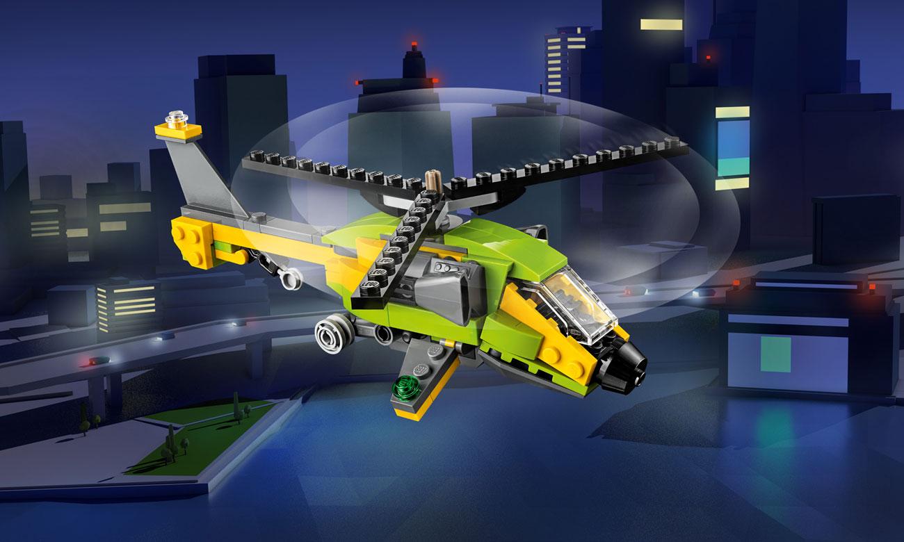 LEGO Creator Przygoda z helikopterem 31092