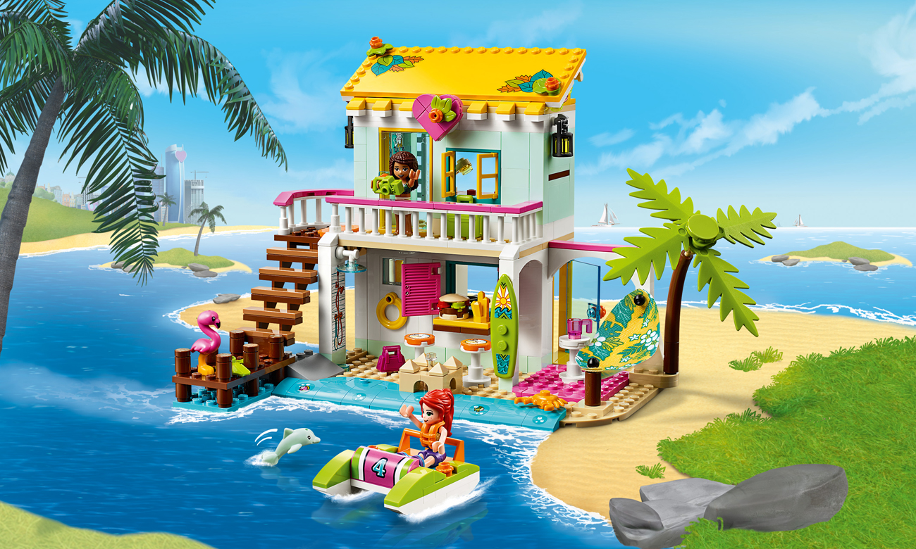 LEGO Friends Domek na plaży