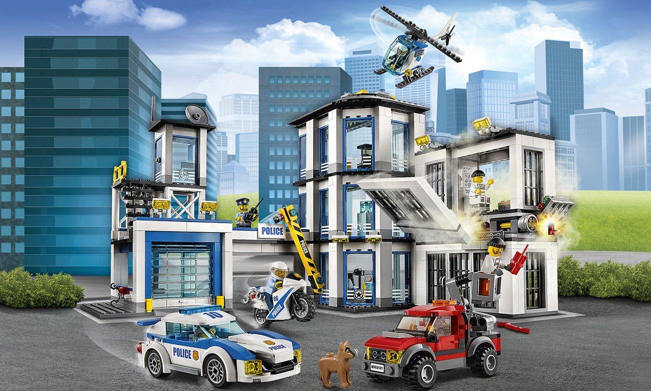 Lego City Posterunek policji 60141