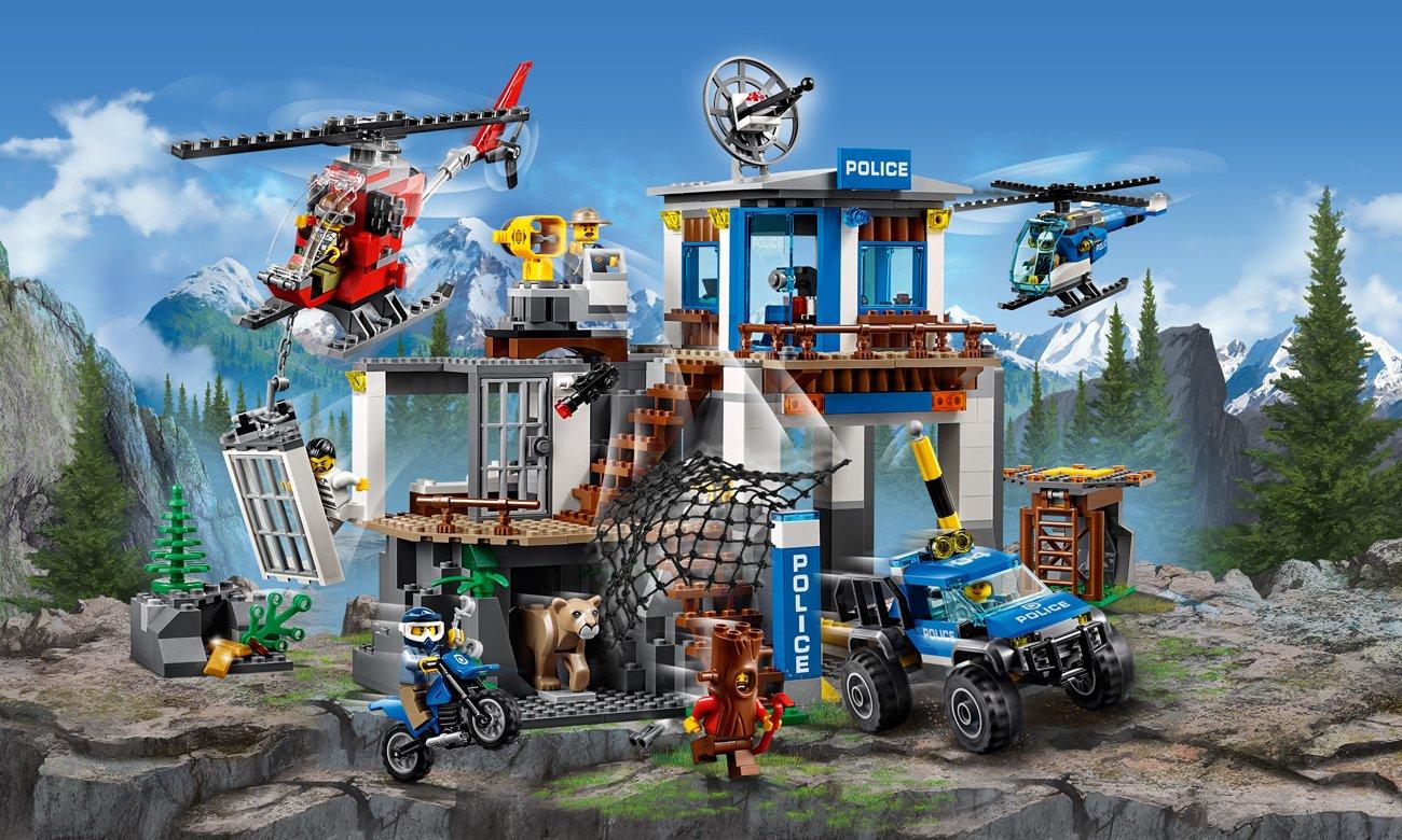 Lego City Górski Posterunek Policji Klocki Lego Sklep