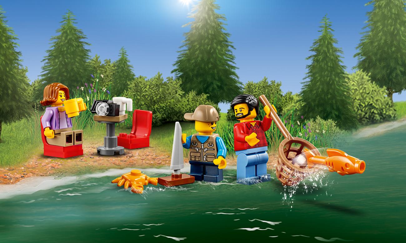 LEGO® City samochód kempingowy