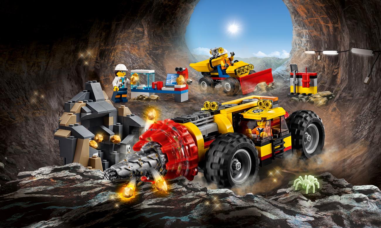 LEGO® City Ciężkie wiertło górnicze