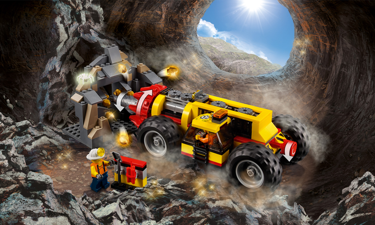 LEGO® City górnicy 60186