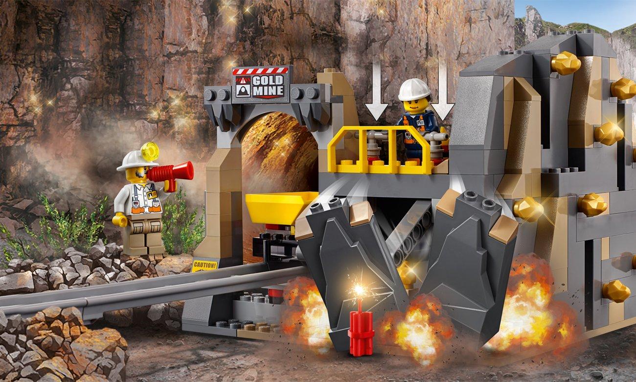 LEGO® City górnicy