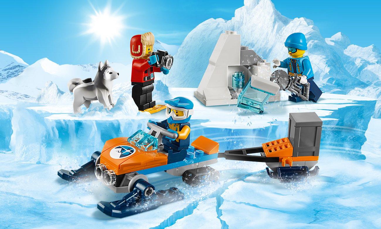 LEGO City Arktyczny zespół badawczy