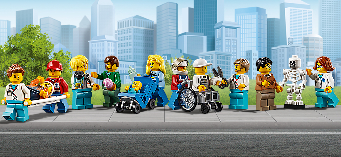 lego city minifigurki