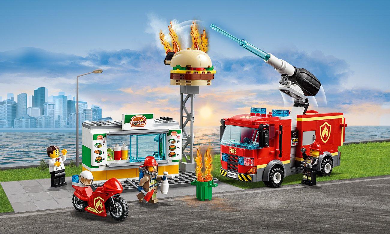 LEGO City Na ratunek w płonącym barze