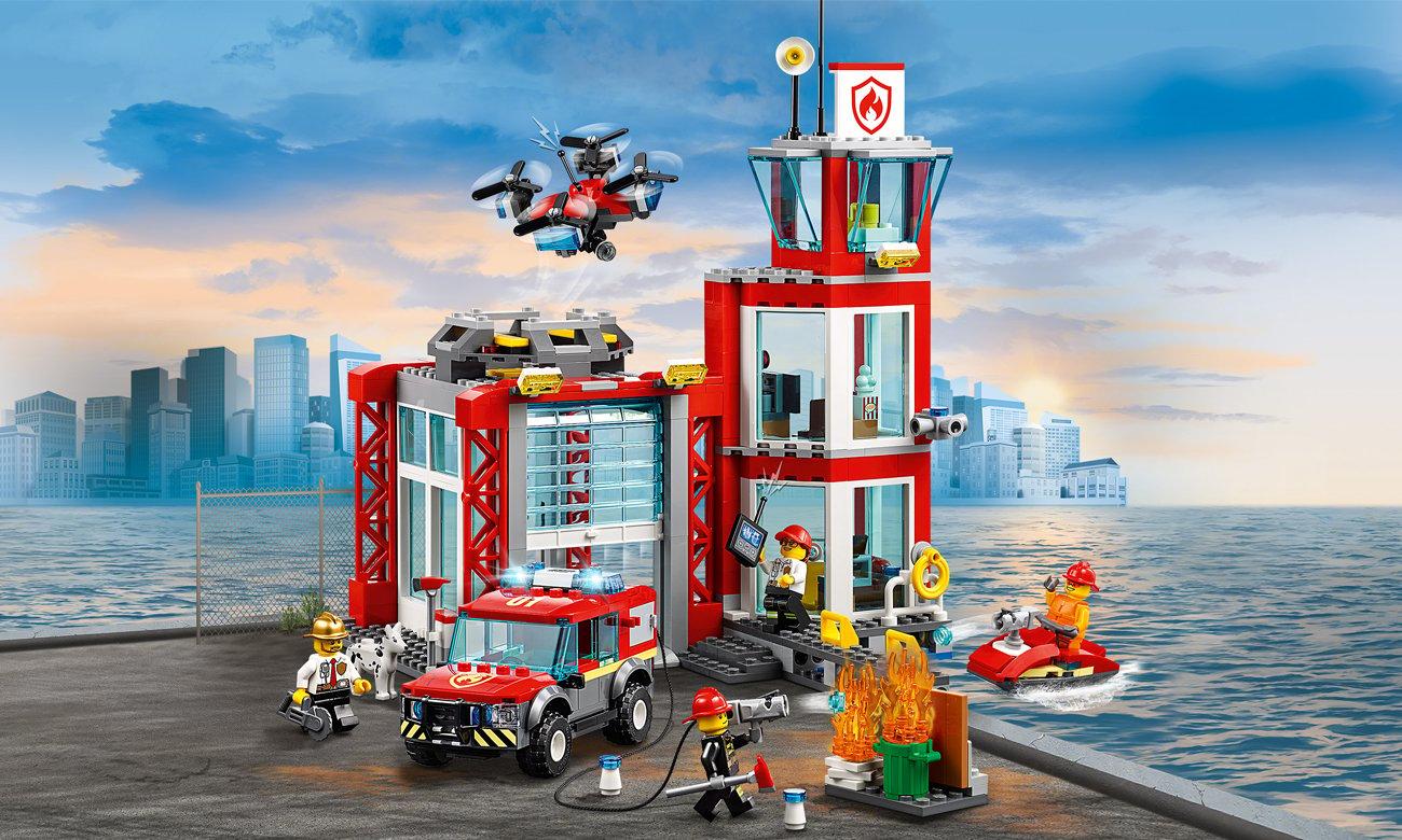 Lego City Remiza Strażacka Klocki Lego Sklep Internetowy Alto