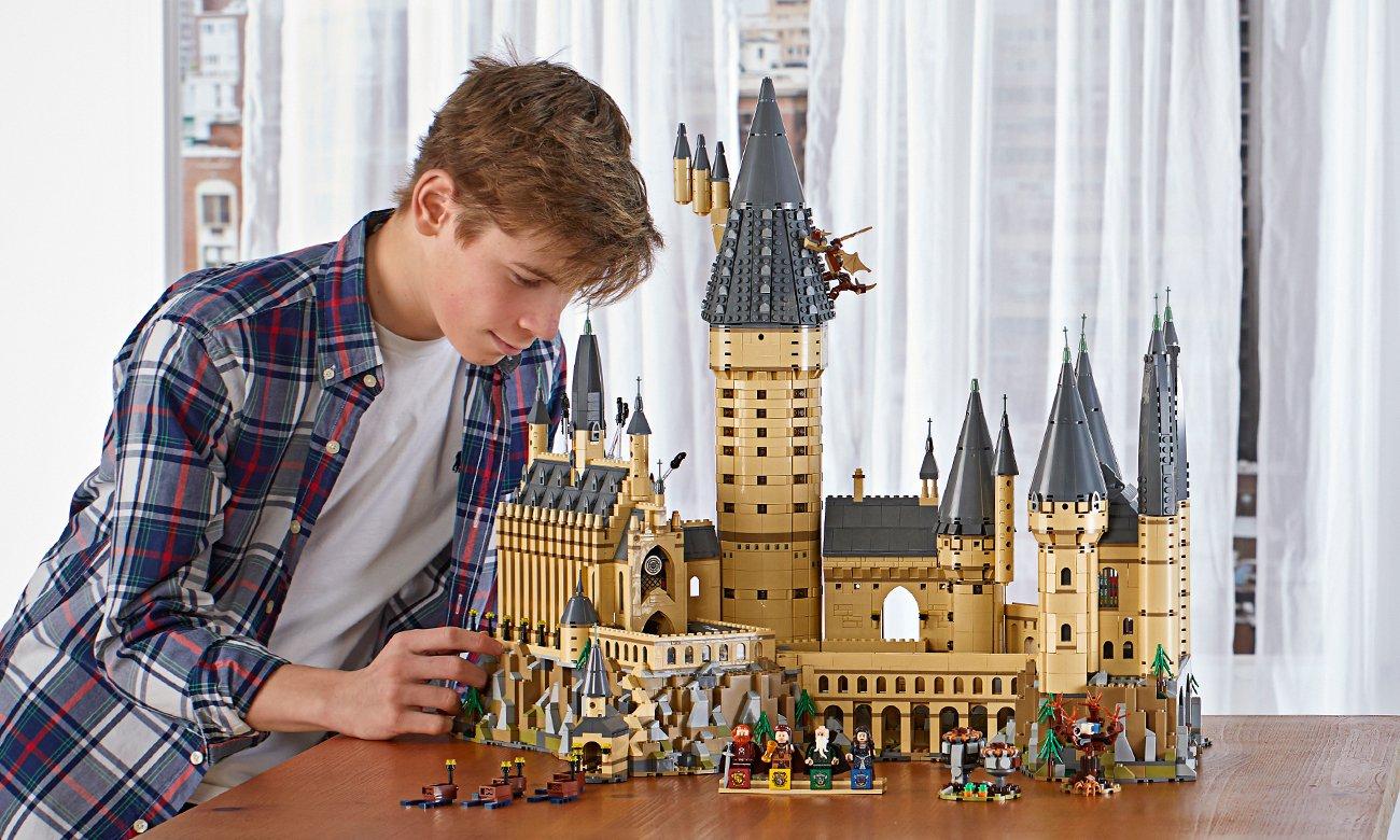 cały hogwart z lego