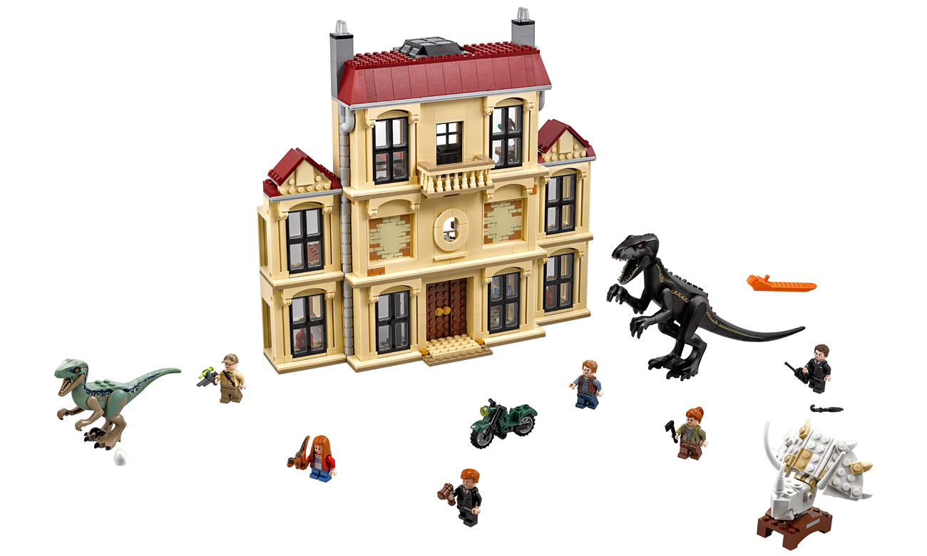 Lego Jurassic World Atak Indoraptora Klocki Lego Sklep