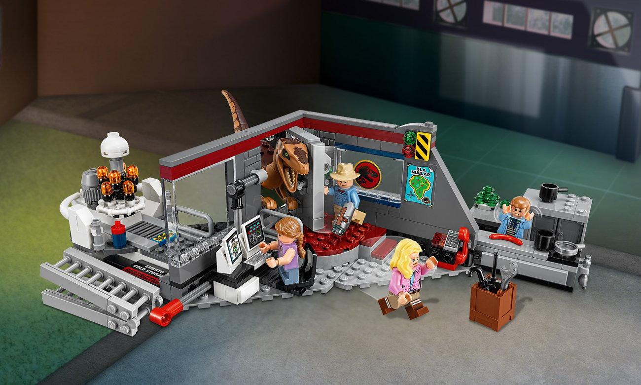 LEGO Jurassic World Pościg raptorów