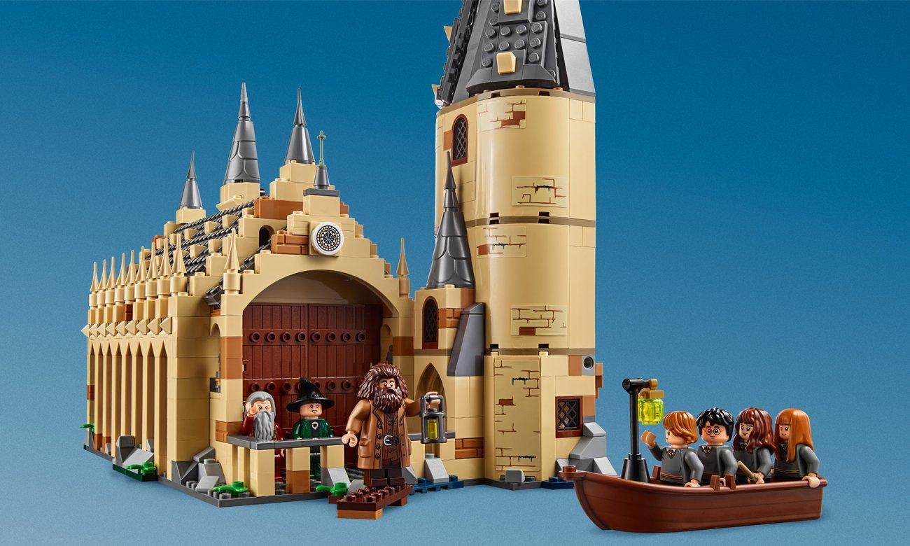 hogwart z klocków lego