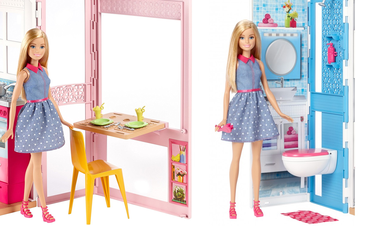 Barbie domek dwa piętra