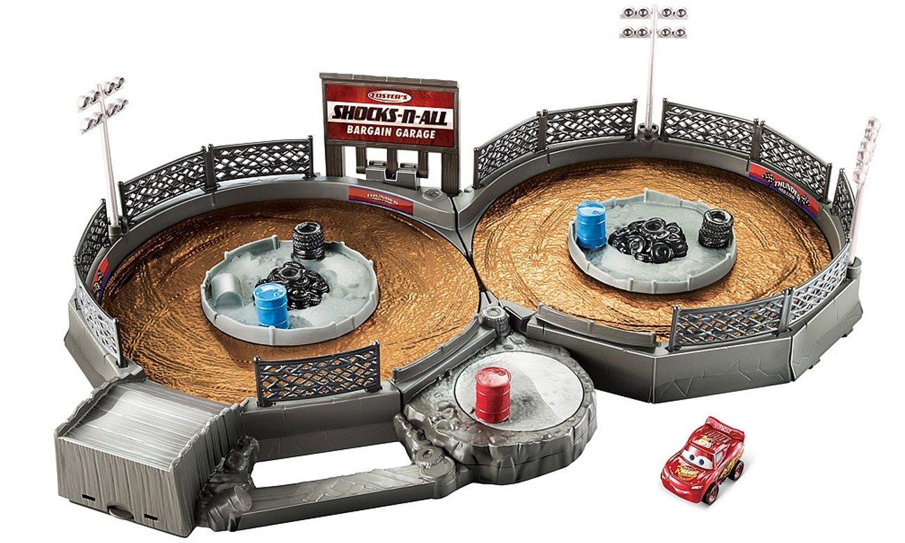 Mattel Cars Mikroauta Zestaw Zakręcona ósemka z Zygzakiem FLG71