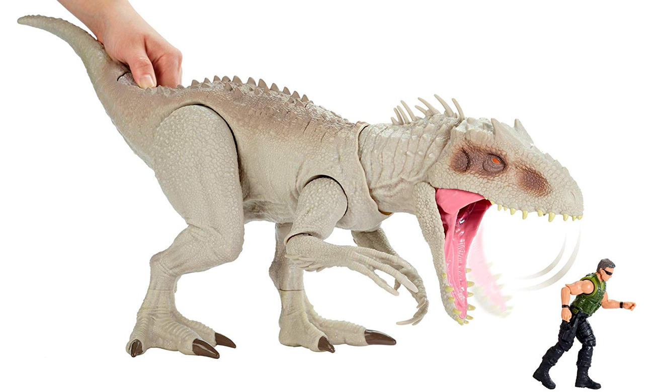 duża figurka dinozaura