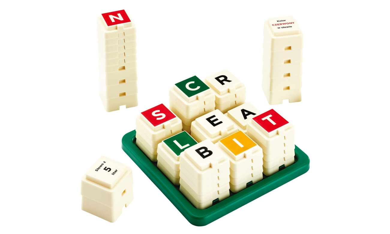 scrabble tower
