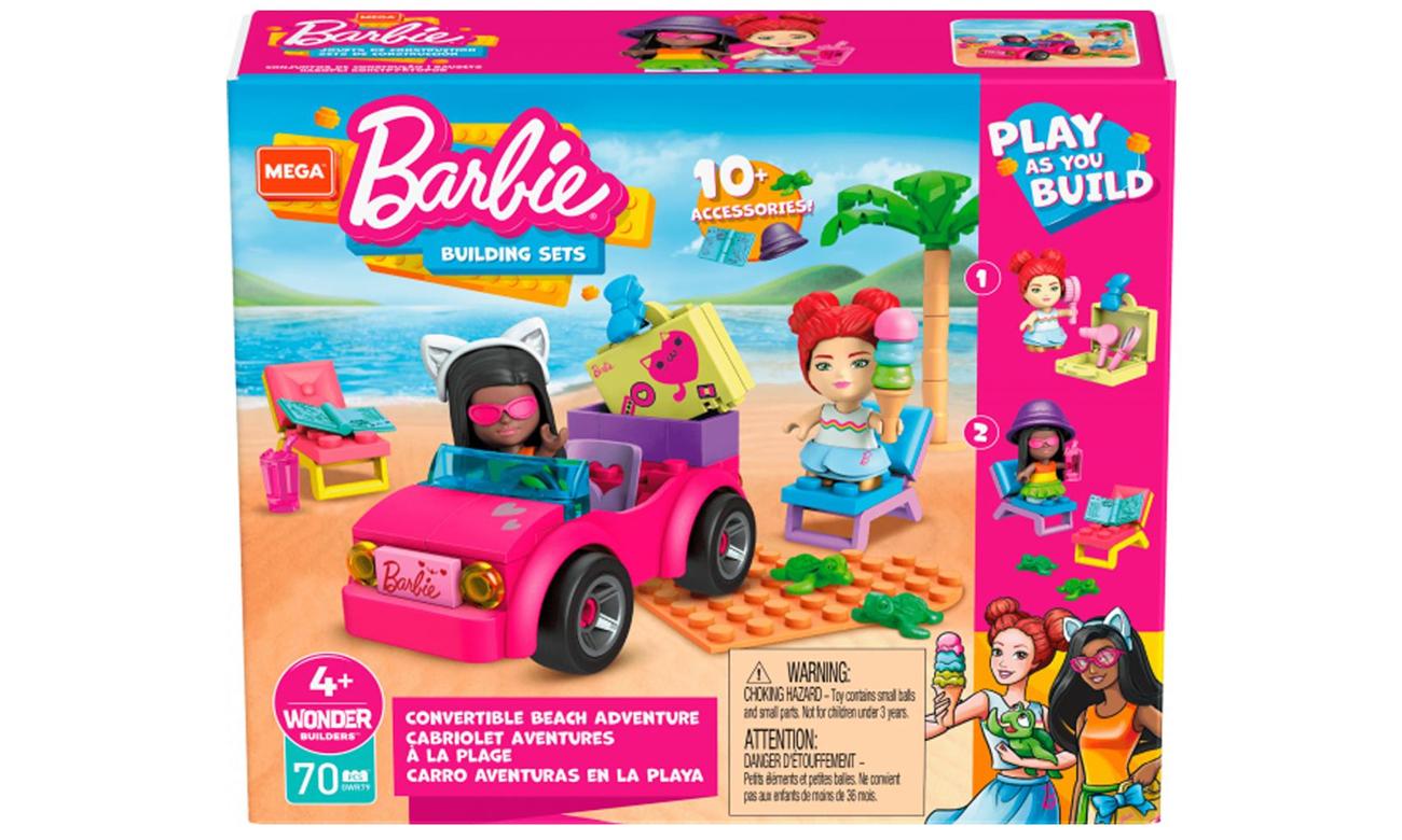 Mega Construx Barbie Barbie Plażowanie w Malibu