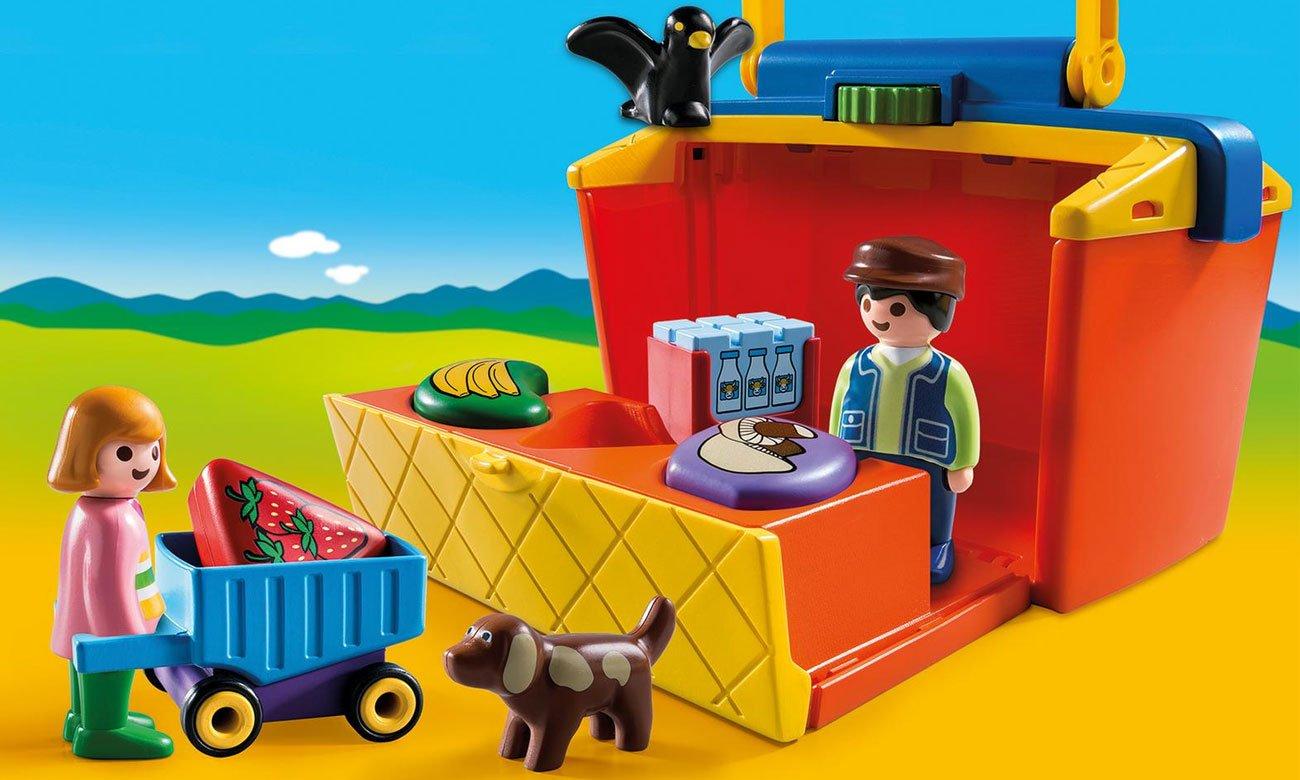 Playmobil Przenośny stragan