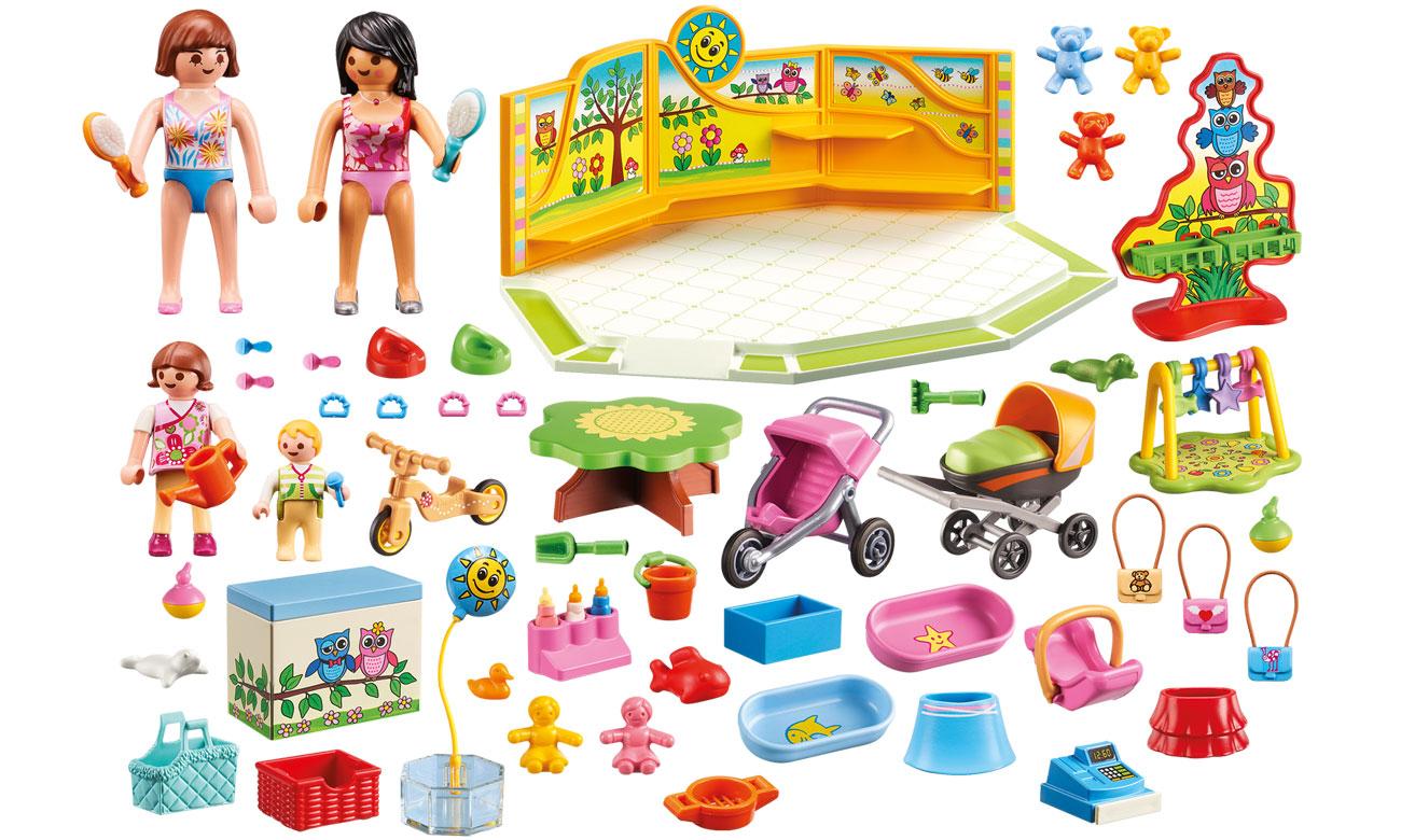 skład zestawu 9079 od playmobil