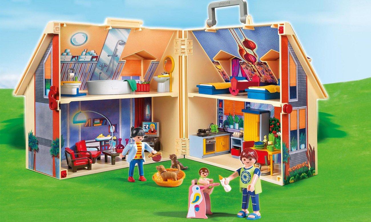 Playmobil Nowoczesny przenośny domek 5167