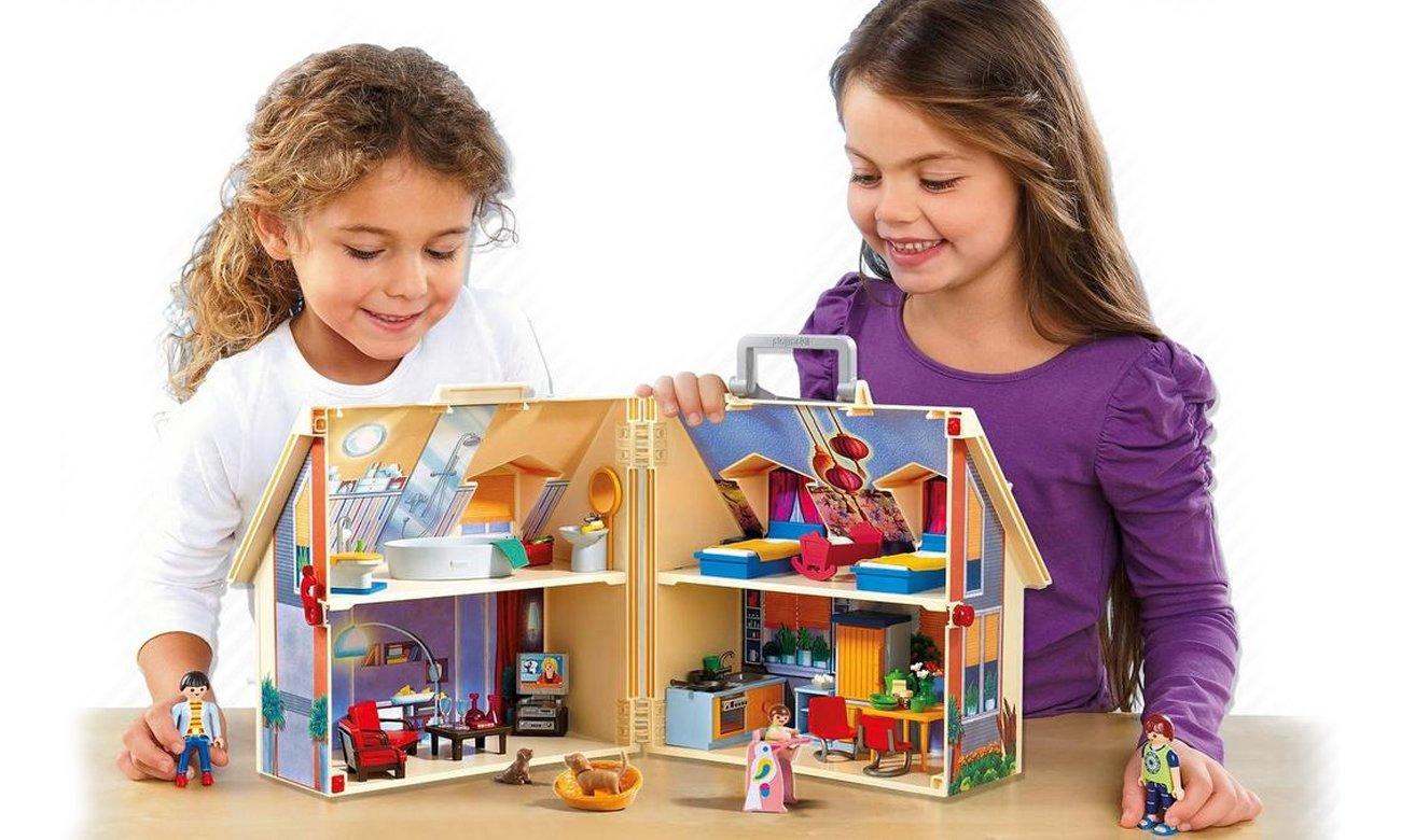Playmobil domek przenośny