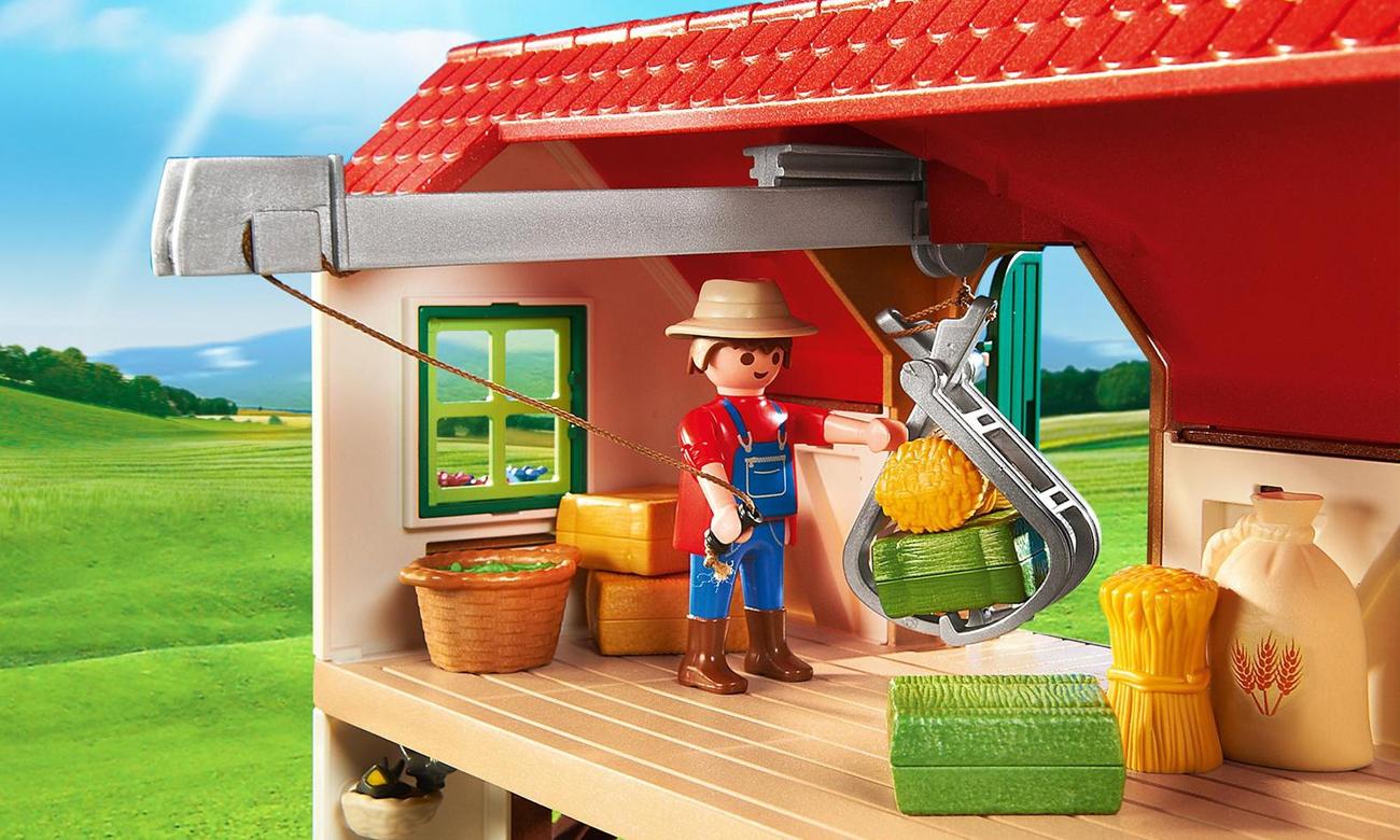 PLAYMOBIL® Duże gospodarstwo rolne 6120