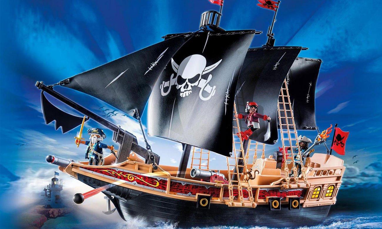 Zestaw Playmobil Piracki statek bojowy