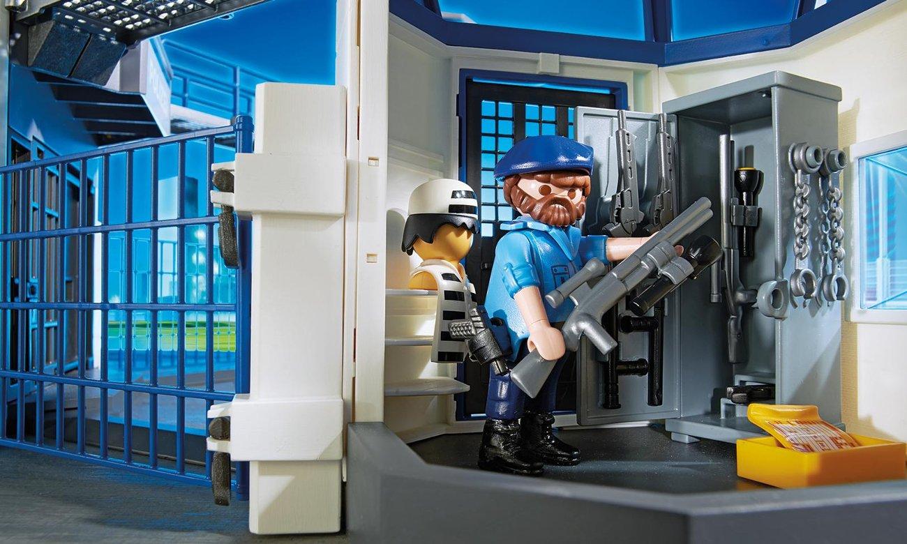 playmobil Komisariat policji z więzieniem