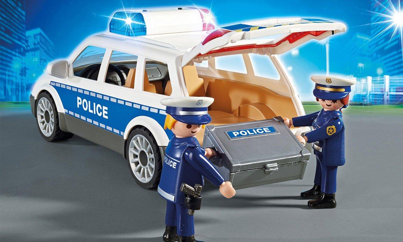 Wysoka jakość wykonania w Playmobil Radiowóz policyjny 6920