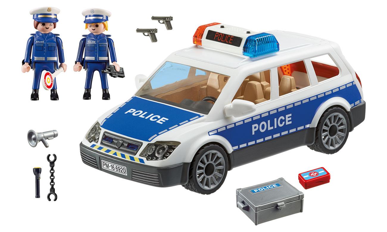 Zawartość zestawu Playmobil Radiowóz policyjny 6920