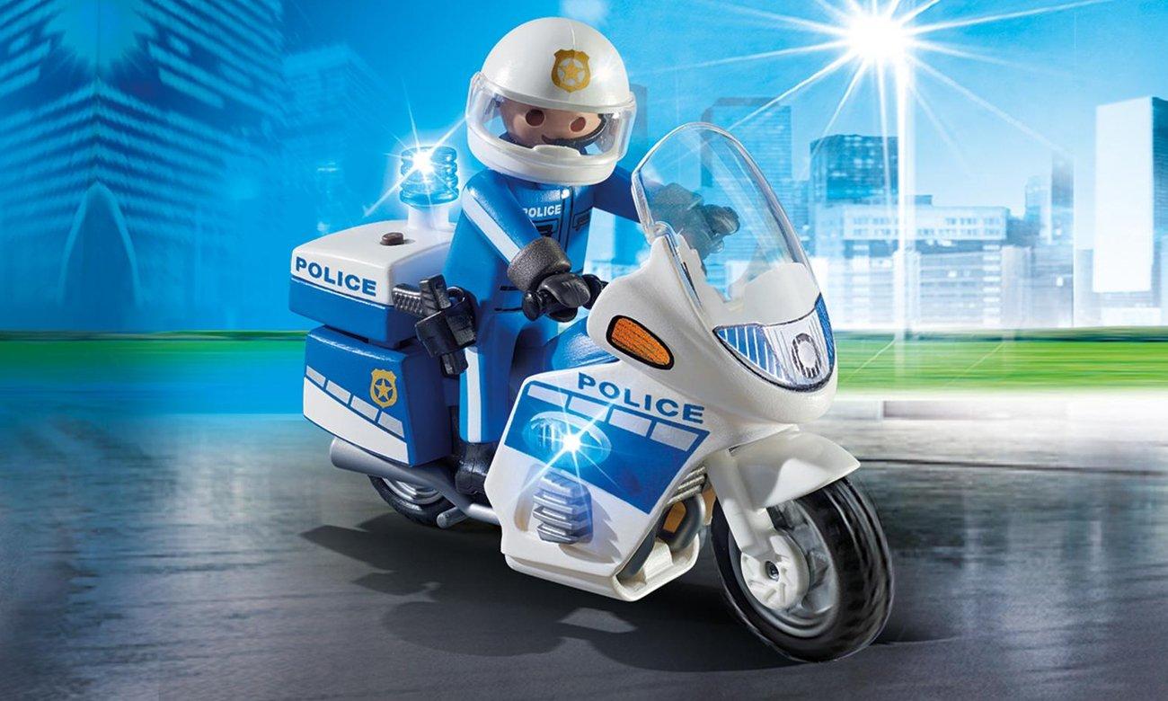 Motor policyjny ze światłem LED  6923