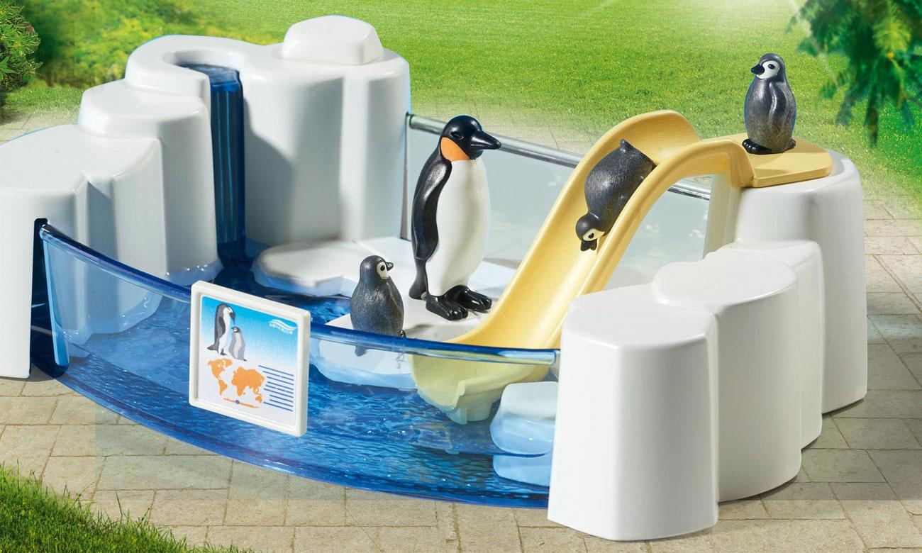 Playmobil Basen dla pingwinów